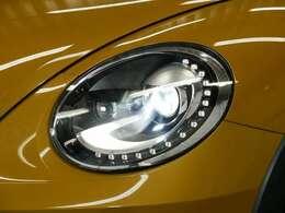 LEDポジショニングランプ付バイキセノンヘッドライト(オートハイトコントロール機能付) ☆関東最大級のAudi・VW専門店!豊富な専門知識・経験で納車後もサポートさせていただきます☆
