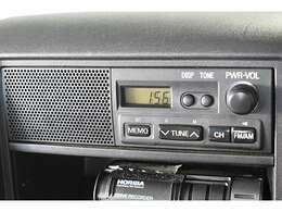 純正『AM/FMラジオ』装備。お好みのサウンドで楽しくドライブ♪ナビの取り付けもご相談してください♪