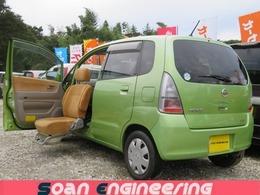 日産 モコ 660 C 検R4/10 助手席回転電動シ-ト Tチェ-ン ETC