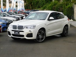 BMW X4 xドライブ28i Mスポーツ 4WD 弊社下取20AW黒革LEDアスリートPKGフルセグ