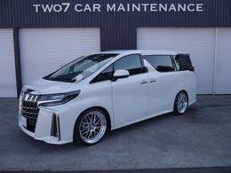 トヨタ アルファード 2.5 S Aパッケージ 4WD 新品車高調 ワーク新品21インチ