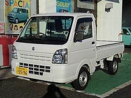 スズキ キャリイ 660 KCエアコン・パワステ 3方開 4WD 5MT CD ラジオ 新品タイヤ 復歴無 1オナ