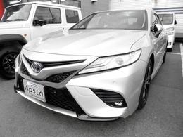 トヨタ カムリ 2.5 WS レザーパッケージ ナビTV JBLプレミアムサウンド 1オナ
