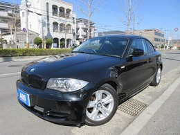 BMW 1シリーズクーペ 120i 1オーナー 黒革