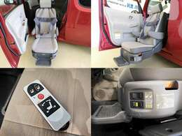 日産の福祉車両 アンシャンテ 助手席回転スライドアップ 福祉車両として使っても良いですが、 足腰が弱ったお年寄りの乗り降りにも便利ですね