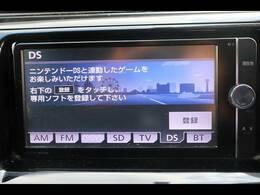 トヨタ純正7型ナビを装備。フルセグTV、ブルートゥース接続、DVD再生可能、音楽の録音も可能です。