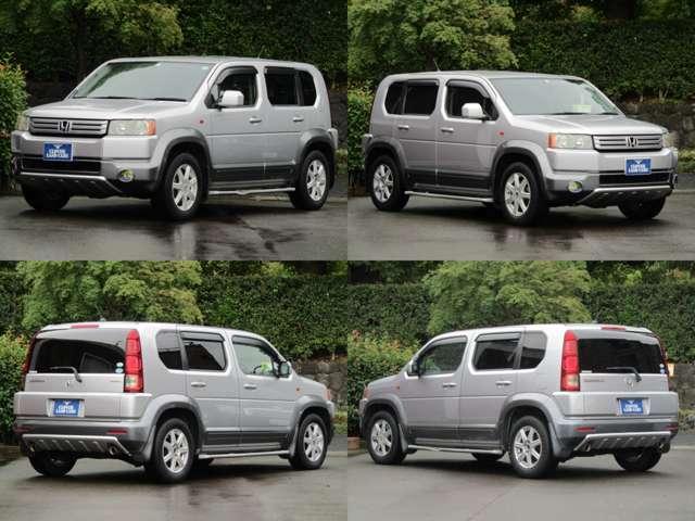SUVのデザイン・機動性に、コンパクトカー並の扱いやすいサイズやミニバンの3列7名乗車としたクロスロード入庫!3列シート・7人乗り!