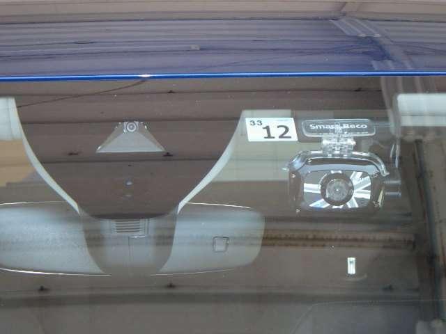 安心安全の必需品!!ドライブレコーダー付きです。