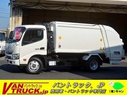 日野自動車 デュトロ パッカー車 極東製 プレス式 5.3立米 汚水タンク 連続スイッチ