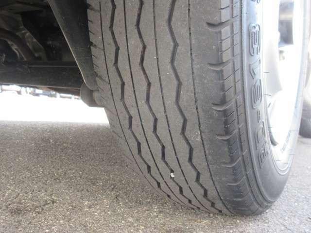 タイヤはまだ大丈夫