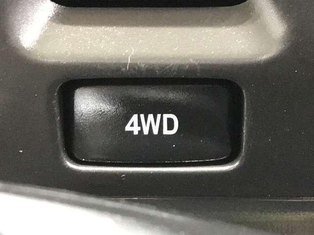 4WD車になります!