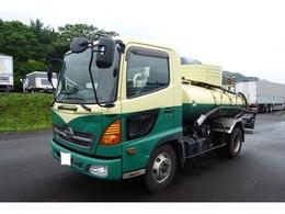 日野自動車 レンジャー 4t バキュームカー 特種車