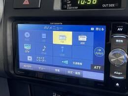 フルセグ内蔵SDナビ搭載。DVD再生、Bluetoothも対応可能です。