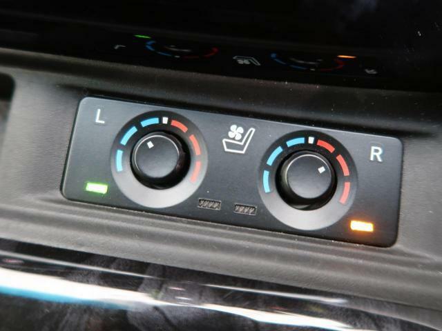 ☆シートヒーター&シートベンチレーション(運転席・助手席)☆寒い時期にはシートヒーターで温もりを、暑い時期には爽やかな風が通るベンチレーション機能がうれしいシート♪快適装備が充実してます♪