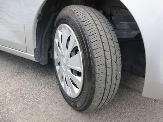 タイヤの溝はバッチリ残ってます