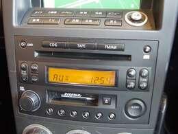 【純正オーディオ】お気に入りの音楽をかけて楽しいドライブを!!★AM・FM・CD