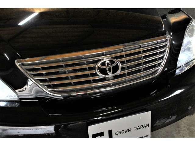 トヨタオプションメッキグリル☆ ハリアー鷹エンブレムからトヨタエンブレムに交換しました!