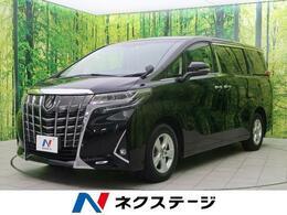 トヨタ アルファード 2.5 X 4WD SDナビ セーフティセンス 禁煙車 LEDヘッド
