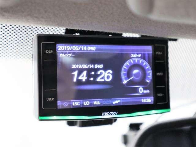 GPSレーダーは勿論のこと、2018年3月モデルのカロッツェリアHDDナビは、ブルートゥースでスマホと接続ができて音楽が楽しめる上、オービスロムがインストール済みであり、ETCと連動しております。