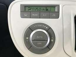 とっても便利なオートエアコンになっております☆室温設定するだけで、風量・風向を自動で調節してくれます☆