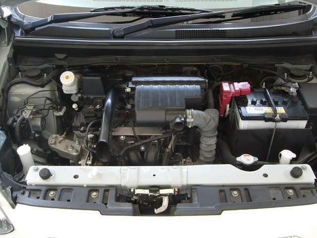 キビキビと軽快な1.2L MIVECエンジン。