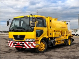 UDトラックス コンドル 高圧洗浄車 増トン 5.8t ホース付き ベッド付き