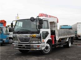 UDトラックス コンドル 4段クレーン付き 増トン 7.3t ラジコン 平 フックイン 差し違いアウトリガー