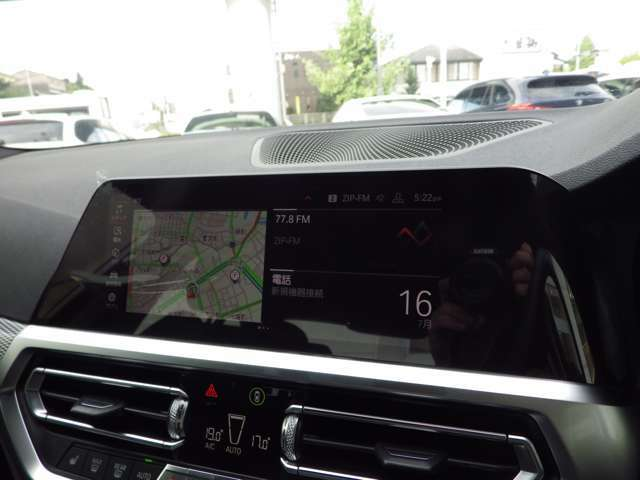 最新のiDriveナビゲーションシステムであらゆる操作が直感的にできます。