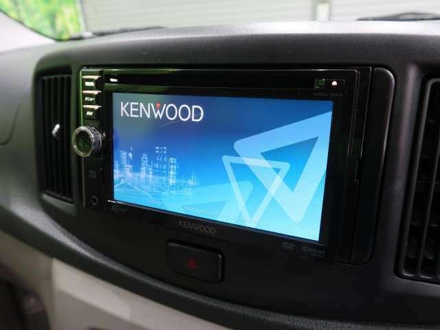 ●ケンウッド製ナビ!!高性能&多機能ナビでドライブも快適ですよ☆●
