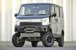 スズキ エブリイワゴン 新車JPターボ チョイアゲ リフトアップ