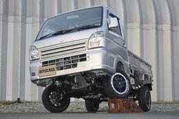 スズキ キャリイ 新車KC 4WD 5インチ リフトアップ