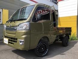 ダイハツ ハイゼットトラック 660 ジャンボ 3方開 4WD 2インチリフトアップ 外14AW LEDライト