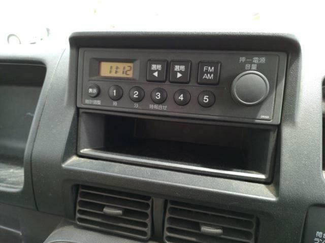 スピーカー内臓ラジオ!