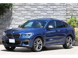 BMW X4 M40i 4WD ベージュ革 SR ライブコックピット 1オーナ