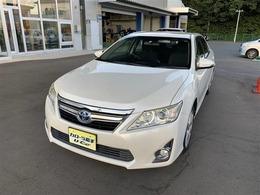 トヨタ カムリハイブリッド 2.5 Gパッケージ 1年保証付販売車/社外アルミホイール/ナビ