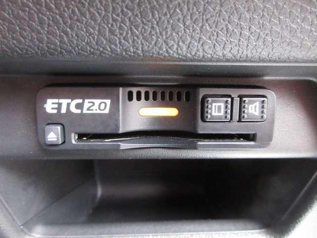 今や必需品の『ETC』が付いています!高速道路の料金所をノンストップで通過可能!ETCを使えば土日祝日割や深夜割などのメリットを受けることができます。料金所でお金を用意する必要がないところも良い点ですね