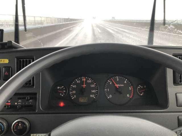 とても静かでパワフル・快適100km巡行 クラッチも良好。エアコン・ヒーター効きます。