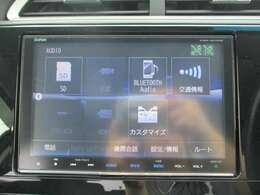 純正メモリーナビ(VXM-185VFEi)です。DVD/CD再生のほかにもフルセグTV、ミュージックサーバー、USB接続・Bluetooth連携機能も装備されとっても便利です!