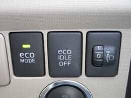 ■ 装備4 ■ エコモード、アイドリングストップ:余分なアイドリングを低減し、排ガス減少、燃費向上等有益な効果の見込める装備です!