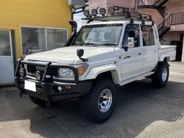 トヨタ ランドクルーザー70ピックアップ 4.0 4WD ワンオーナー リフトアップ