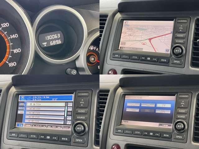 CD録音再生できる HDDナビゲーション付き