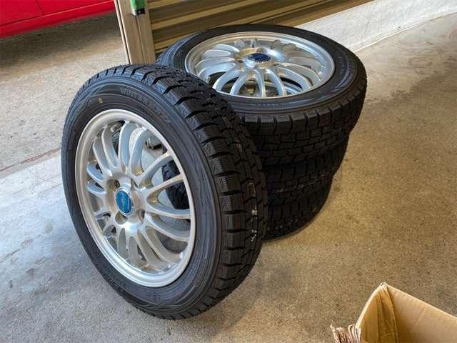 冬タイヤはダンロップのウィンターマックス!新品です!