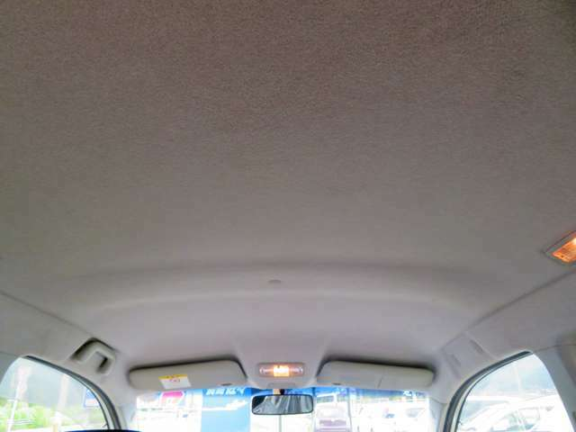 天井までしっかりと清掃しています!状態も非常にきれいです!