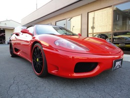 フェラーリ 360スパイダー F1 正規ディーラー車