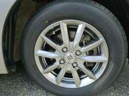 タイヤと外品アルミホイール。夏タイヤは新品に交換したところです!