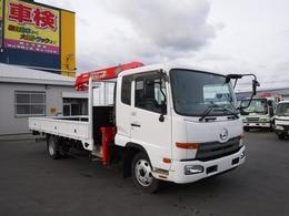 UDトラックス コンドル 4トン 4段クレーン ラジコン ワイド ベッド 荷台内寸長さ5410 幅2360