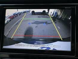 バックカメラ搭載しています。リアの映像が映し出されますので安心安全です。