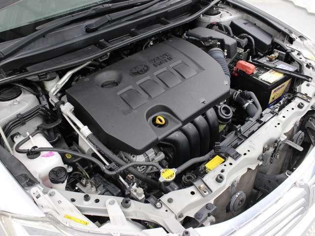 2ZR-FAE型 1.8L 直4 DOHC VALVE MATIC エンジン搭載、FF駆動です。