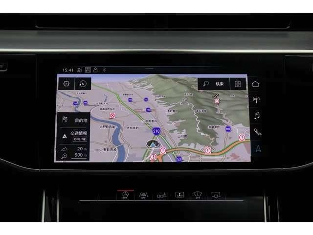 純正ナビゲーションシステム搭載(ミュージックサーバー機能/SDカードスロット/FM・AMラジオ/地デジ/Bluetooth)