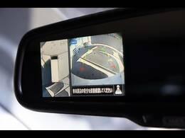 ミラー一体型バックカメラ装備★アラウンドビューモニター搭載で駐車時も安心ですね★